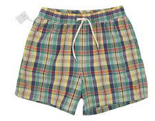 NEW! NWT! Polo Ralph Lauren Plaid Swim Shorts (Bathing Suit)!  XXL
