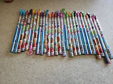 Scentco  NEW  Lot of 27 Smencils  Scented Pencils  Asst Scents  Recycled