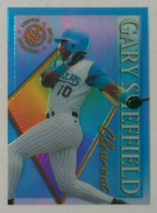 1995 GARY SHEFFIELD Topps Stadium Club Clearcut #13 Baseball Card
