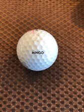 Logo Golf Ball-Mingo.Personal Logo.#30 Prov1 Ball