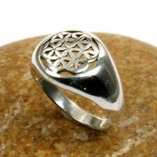 Ringe ohne Steine im Band-Stil aus echtem Edelmetall Innenvolumen (18,1 mm Ø)