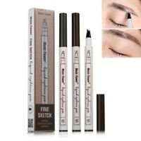 Makeup Sketch Liquid Eyebrow Pen Waterproof Tattoo Super Durable Eye Brow Pencil