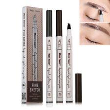 Patented Music Flower Eyebrow Tattoo Pen Waterproof Fork Tip Sketch Makeup Pen