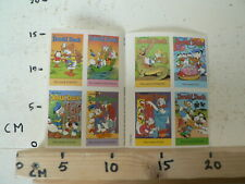 STICKER,DECAL DONALD DUCK SHEET 8 STICKERS 1994 DISNEY A