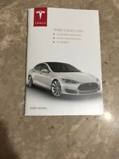 2012 - 2016 Tesla Model S Quick Guide OEM