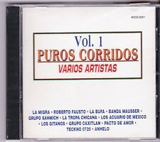 La Migra,Roberto Fausto,La Bufa,Banda Mausser,Grupo Sahmich,La Tropa Chicana CD