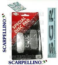 PASTICCHE FRENI SGR SCARABEO SPORCITY NSR RUNNER TUAREG -BRAKE PADS- SGR 6575880