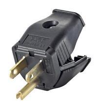 Leviton 000-3W101-00E 2 Pole 3 Wire Grounding Plug, 125 Volt