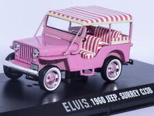 HOLLYWOOD GREENLIGHT 1/43 1960 JEEP SURREY CJ3B ELVIS DIECAST PRESLEY CAR MODEL