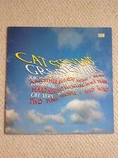 Cat Stevens Greatest Hits Vinyl 1975 Includes Lyrics Good Condition