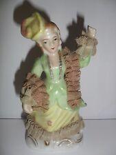 Statuetta dama in porcellana giapponese Statuette lady in Japanese porcelain