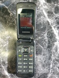 Samsung Entro (Virgin Mobile) SPH-M270 Flip Phone 3G - no cabels
