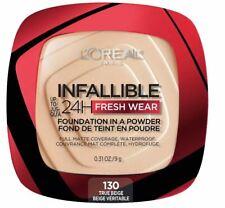 Loreal Infallible Foundation Fresh Wear 24 Hour Powder True Beige 130