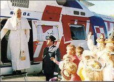 939- CARTE VATICAN VISITE PAPE JEAN PAUL II  EN  ESTONIE