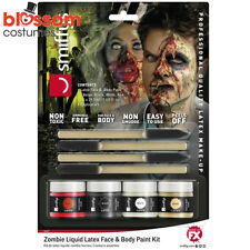 AC190 Zombie Undead Liquid Latex Halloween Makeup Costume Special FX Make Up