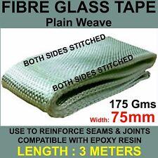 GLASS FIBRE / FIBRE GLASS TAPE WIDTH 75mm x 3 METERS