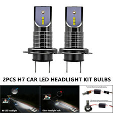 Universal 6000K H7 LED Headlight Kit Bulbs 100W 26000LM With Canbus No Errors