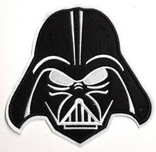 "STAR WARS DARTH VADER HEAD 7"" Tall Jacket Patch-FREE S&H (SWPA-DV)"