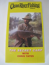 The Secret Carp with Chris Yates - Angling / Fishing VHS Video