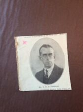 B9g Ephemera 1940s Picture Mr A E Le Cheminant