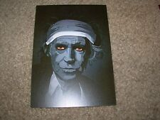KEITH RICHARDS Rolling Stones 4X6 Postcard like poster print MARK REIHILL