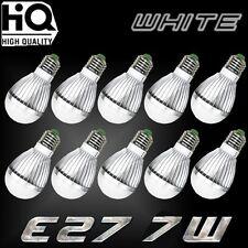 10PCS Ultra Bright 7W 12V E27 Home LED Energy Saving Bulb Lights 6000K White EK