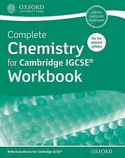 Complete Chemistry for Cambridge IGCSE Workbook by Roger Norris (Paperback,...