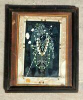 Antique Old Artist Fine Miniature God Krishna Incarnation Shri Nath Ji Painting