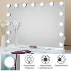 Schminkspiegel Hollywood Beleuchtet Kosmetikspiegel LED Touch mit 15 LED 3Licht