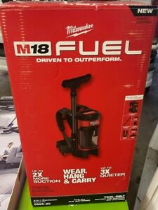 Milwaukee M18 FUEL 3-in-1 Backpack Vacuum - Tool Only, Model# 0885-20