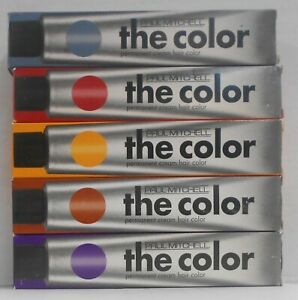 New Formula PAUL MITCHELL THE COLOR Permanent Cream Hair Color ~ 3 fl oz / 90 ml
