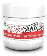 Strong Ingrown Hair Treatment Cream Repair Razor Bumps Shaving Skin Rash V22 MAX