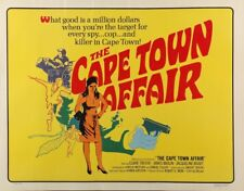 CAPE TOWN AFFAIR half sheet movie poster 22x28 JACQUELINE BISSET 1967 rolled NM