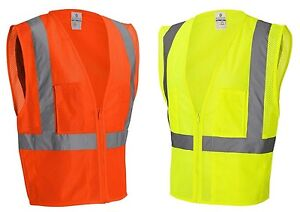 PEACHES PICK S-2X 3XL 4XL 5XL ANSI Class 2 HIGH VIS ULTRA COOL MESH SAFETY VEST