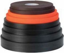"""100 ft roll Weaver Soft Grip 3/4"""" BLACK- stronger than """"thane"""" material made USA"""