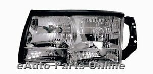 HEADLIGHT ASSEMBLY 97-99 CADILLAC DEVILLE LEFT SIDE