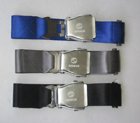 Jean Belt With Airplane Airline Seat Belt Buckle Fashion belt BLACK/BLUE/BEIGE