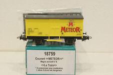 Sachsenmodelle 18759, Güterwagen METEOR Le Train Wagon Exclusiv Nr 9, TOP,OVP