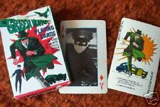 GREEN HORNET  mint set    1966  Playing CARDS