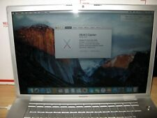 Laptop Apple MacBook Pro 15'' with OS X EI CAPITAN Version 10.11.6, iLife '11