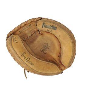 """Franklin 1405 Catchers Glove Mitt Vintage Super Flex Vintage 10.5"""""""