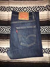 Genuine Levis 513™ 29/30 Mens Jeans Blue Slim Straight fit Denim