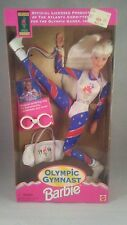 1996 unopened Olympic Gymnast Blond Barbie Doll Atlanta Olympics