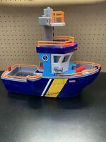 Fisher Price Imaginext Deep Sea Ocean Rescue Coast Guard Boat