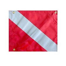 "Boat Dive Flag 14"" x 16"" Stiffener Scuba Diving Float"