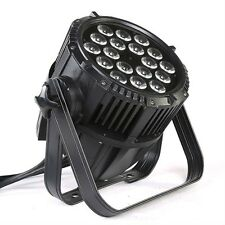 Waterproof led par light 18x15 RGBWA UV 6in1 outdoor led  Par 64  light