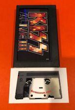 Ultra Rare DCC Kiss Alive III Digital Compact Cassette