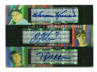 JOE MAUER/HARMON KILLEBREW 2004 Upper Deck SP Prospects Triple RC Auto HOF 18/25