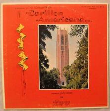 The Schulmerich Carillon Americana Bells John Klein LP Carillonic Bells Record