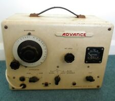 Vintage Advance Audio Frequency Generator Type F Model I (Working)